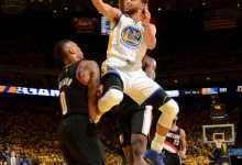 2016-2017 NBA季后赛 勇士VS开拓者 G1 录像-麦豆网