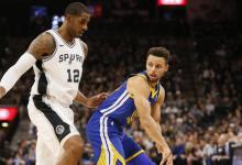 2017-2018 NBA常规赛 勇士VS马刺 录像回放-麦豆网