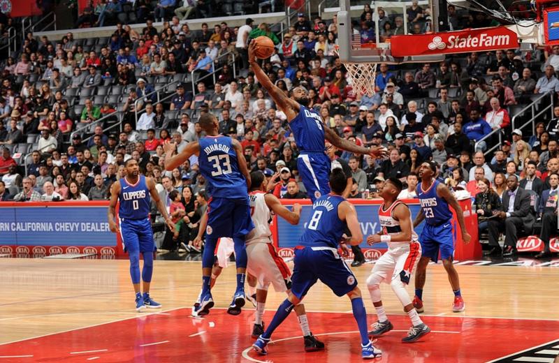 2017年12月10日 NBA常规赛 奇才VS快船 全场高清录像回放-麦豆网