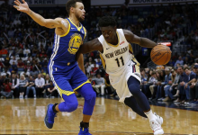 2017年12月5日 NBA常规赛 勇士VS鹈鹕 全场高清录像回放-麦豆网