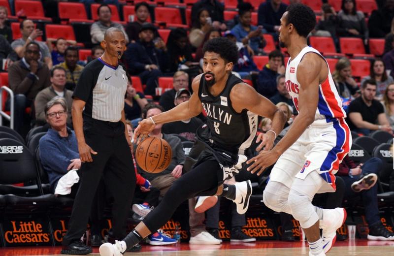 2017-2018 NBA常规赛 篮网VS活塞 录像回放-麦豆网