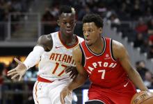 2017-2018 NBA常规赛 猛龙VS老鹰 录像回放-麦豆网