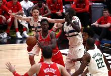 2017-2018 NBA常规赛 雄鹿VS公牛 录像回放-麦豆网