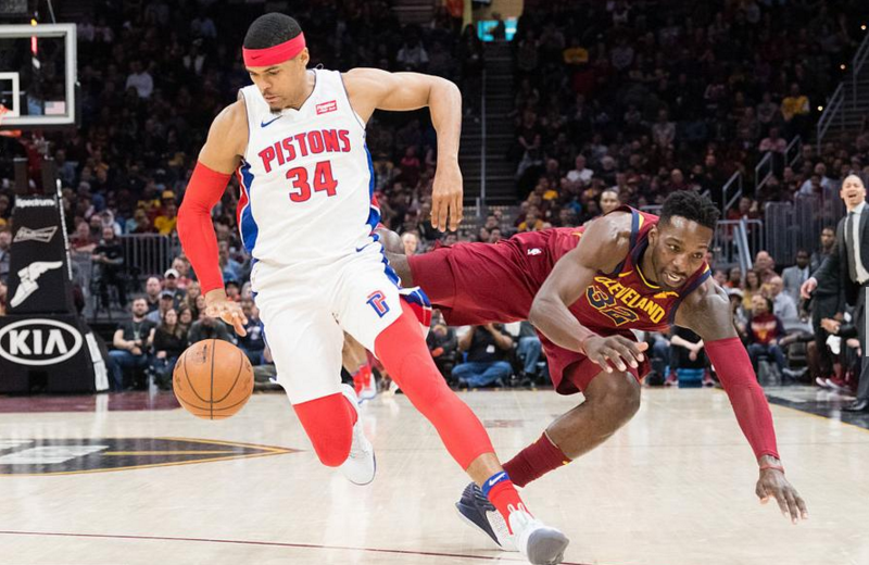 2017-2018 NBA常规赛 活塞VS骑士 录像回放-麦豆网