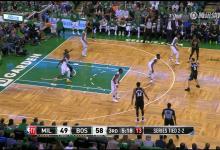 2018年4月25日 NBA季后赛东部首轮 凯尔特人VS雄鹿 第五场全场高清录像回放-麦豆NBA录像吧