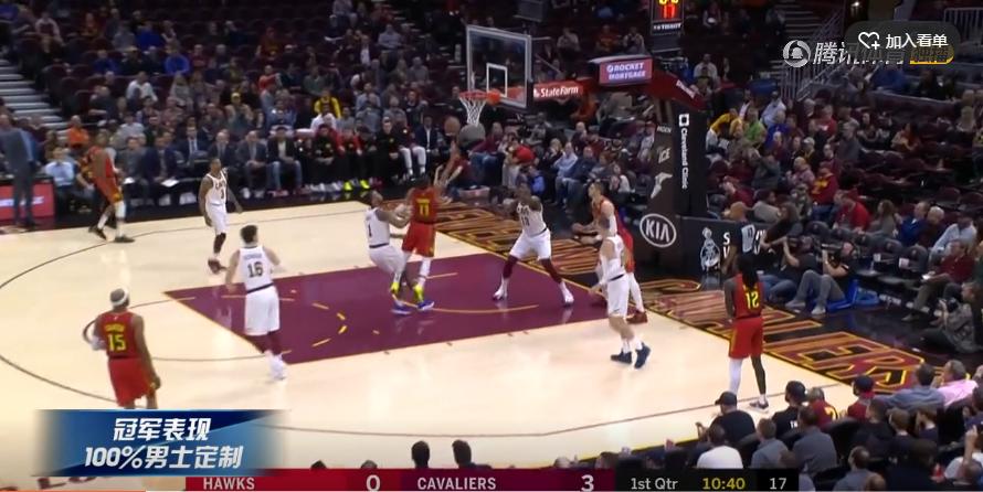 2018年10月31日 NBA常规赛 老鹰VS骑士 全场高清录像回放-麦豆网