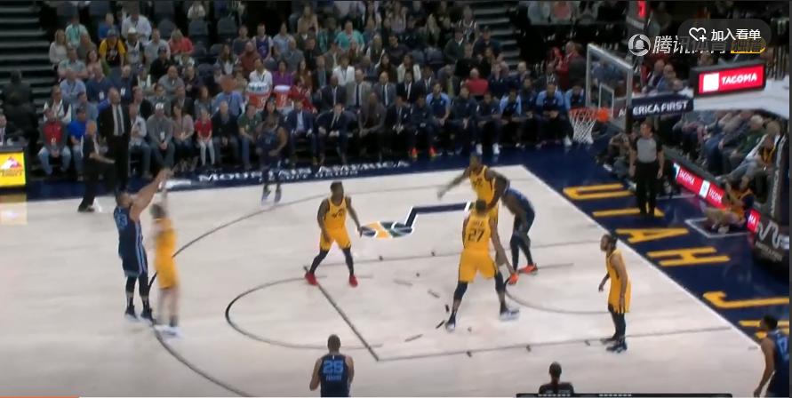 2018年10月23日 NBA常规赛 灰熊VS爵士 全场高清录像回放-麦豆网