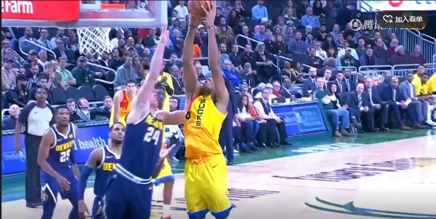 2018年11月20日 NBA常规赛 掘金VS雄鹿 全场高清录像回放-麦豆网