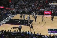 2018年11月13日 NBA常规赛 马刺VS国王 全场高清录像回放-麦豆网