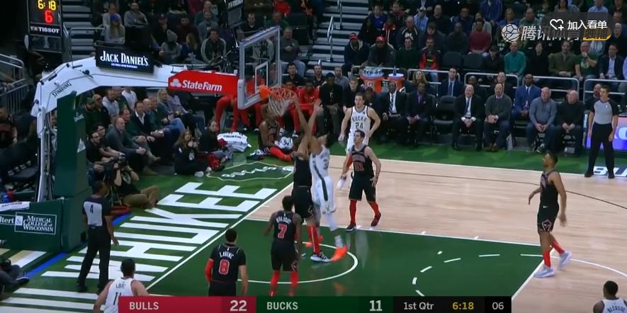 2018年11月29日 NBA常规赛 公牛VS雄鹿 全场高清录像回放-麦豆NBA录像吧