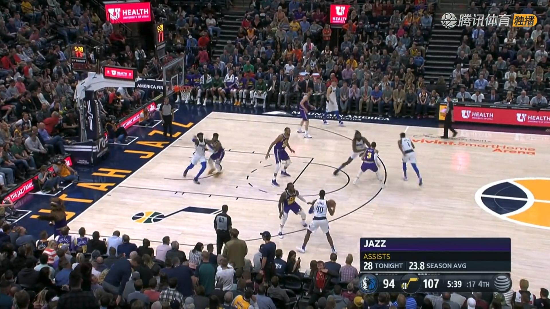 2018年11月8日 NBA常规赛 独行侠VS爵士 全场高清录像回放-麦豆网