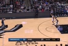 2018年10月18日 NBA常规赛 森林狼VS马刺 全场高清录像回放-麦豆网
