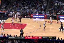 2018年12月12日 NBA常规赛 猛龙VS快船 全场高清录像回放-麦豆网