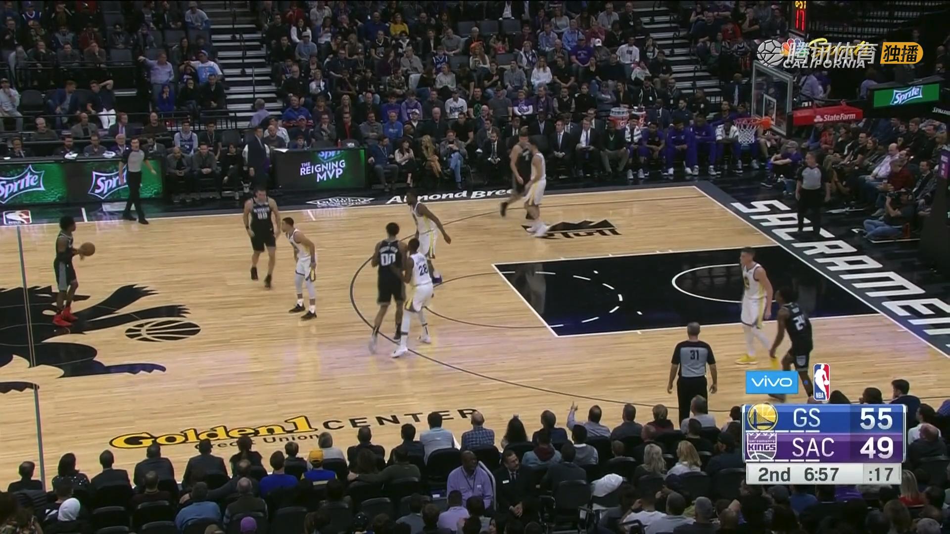 2018年12月15日 NBA常规赛 勇士VS国王 全场高清录像回放-麦豆网
