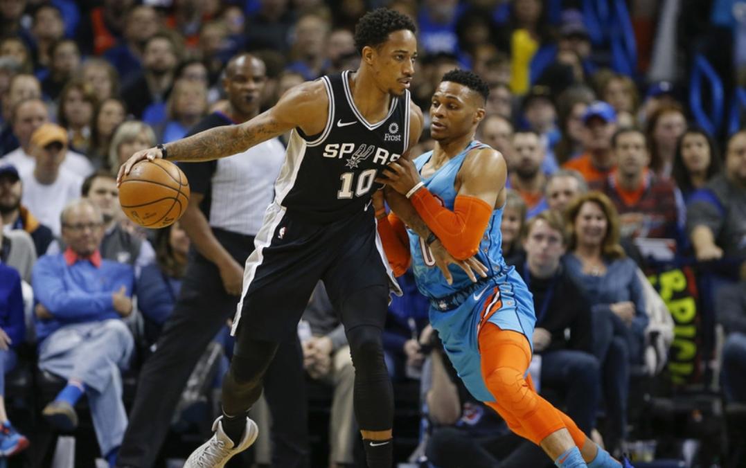2019年1月13日 NBA常规赛 马刺VS雷霆 全场高清录像回放-麦豆网