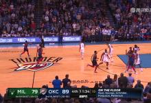 2019年1月28日 NBA常规赛 雄鹿VS雷霆 全场高清录像回放-麦豆NBA录像吧