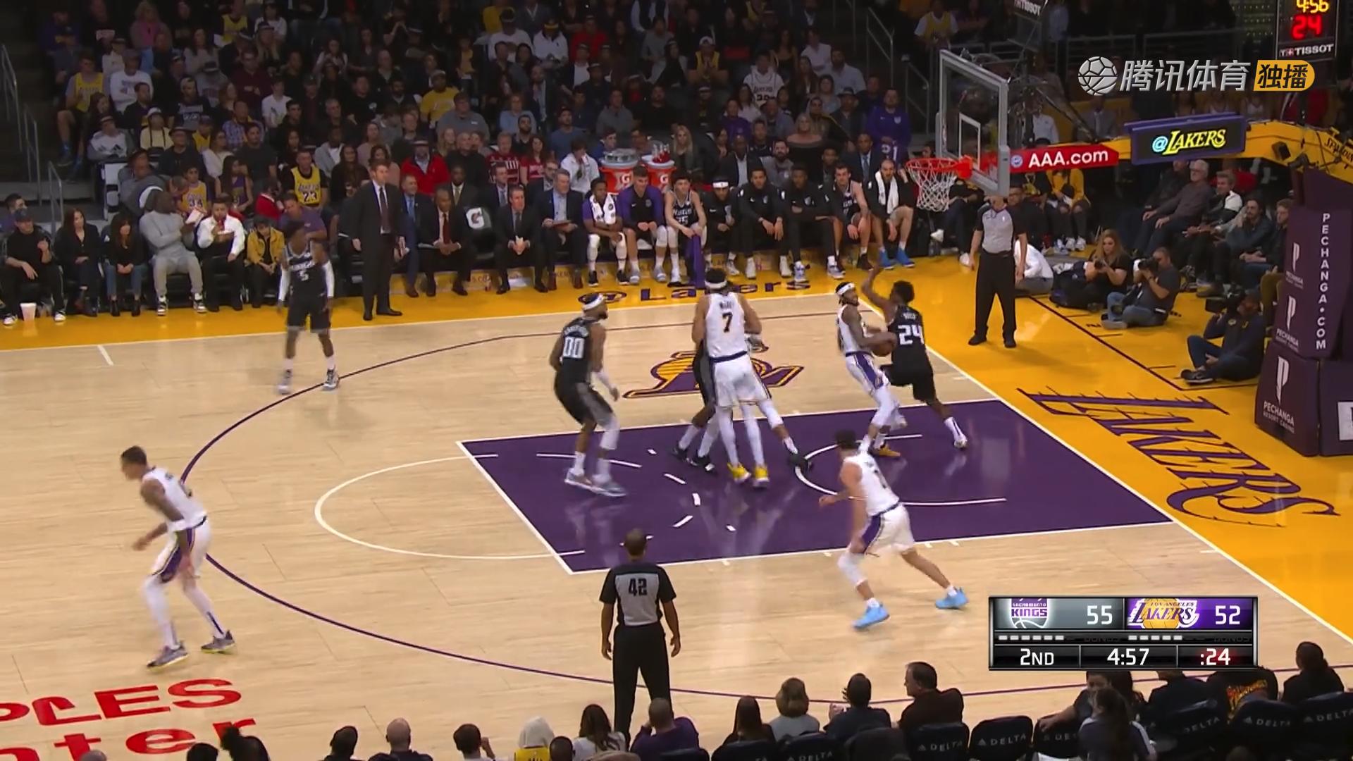 2018年12月31日 NBA常规赛 国王VS湖人 全场高清录像回放-麦豆网