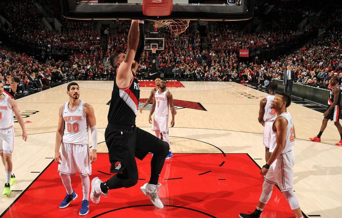 2019年1月8日 NBA常规赛 尼克斯VS开拓者 全场高清录像回放-麦豆网