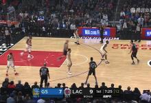 2019年1月19日 NBA常规赛 勇士VS快船 全场高清录像回放-麦豆网