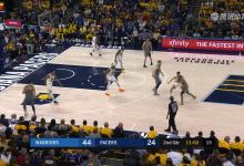 2019年1月29日 NBA常规赛 勇士VS步行者 全场高清录像回放-麦豆网