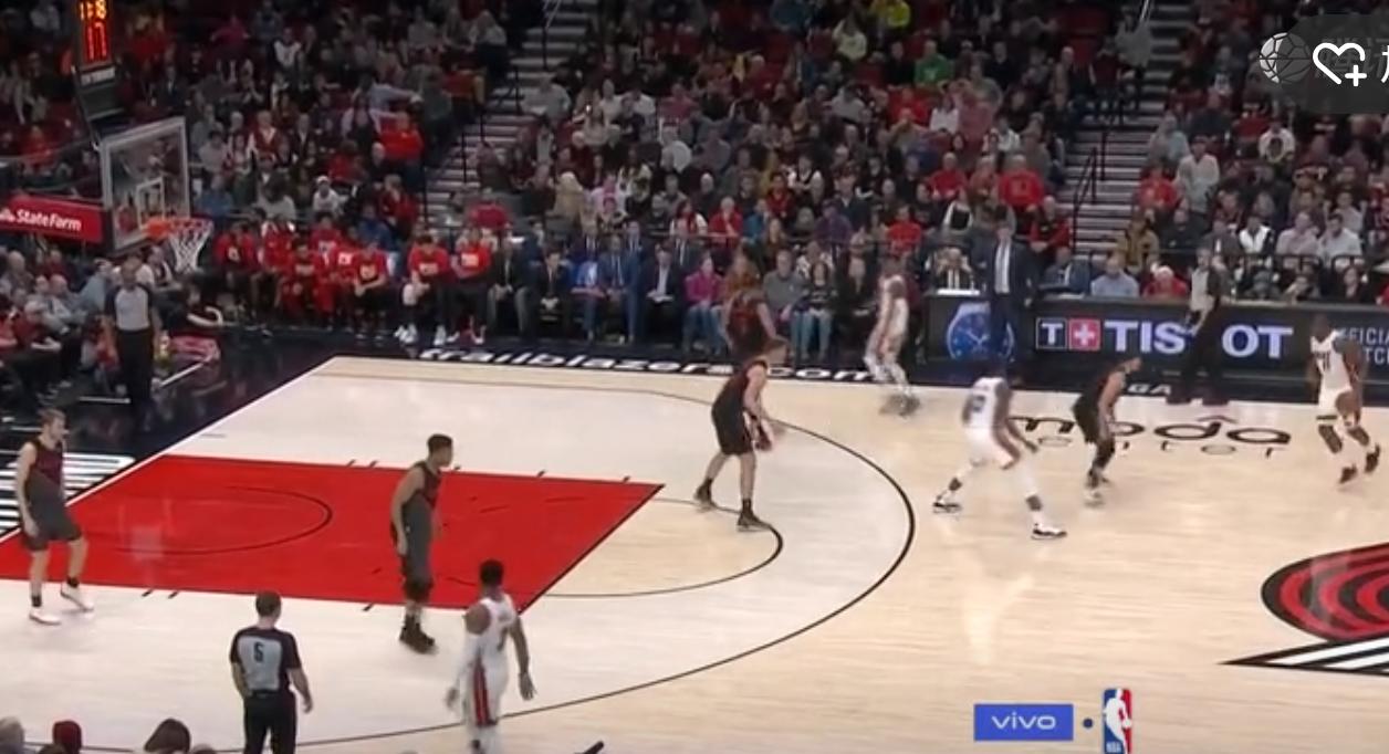 2019年2月6日 NBA常规赛 热火VS开拓者 全场高清录像回放-麦豆网