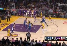 2019年1月30日 NBA常规赛 76人VS湖人 全场高清录像回放-麦豆NBA录像吧