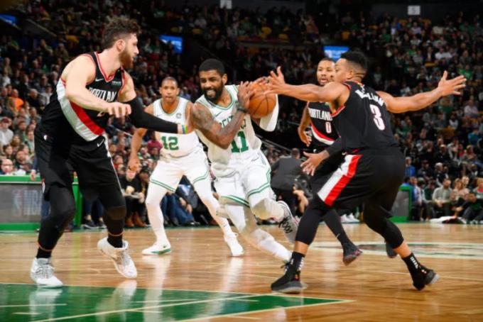 2019年2月28日 NBA常规赛 开拓者VS凯尔特人 全场高清录像回放-麦豆网