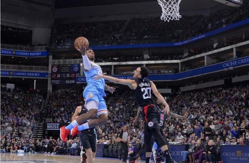 2019年3月2日 NBA常规赛 快船VS国王 全场高清录像回放-麦豆网