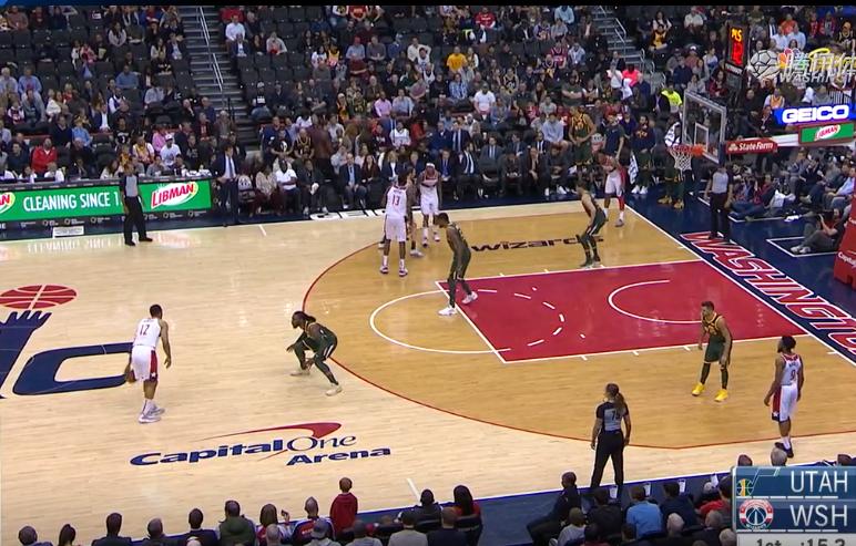 2019年3月19日 NBA常规赛 爵士VS奇才 全场高清录像回放-麦豆网