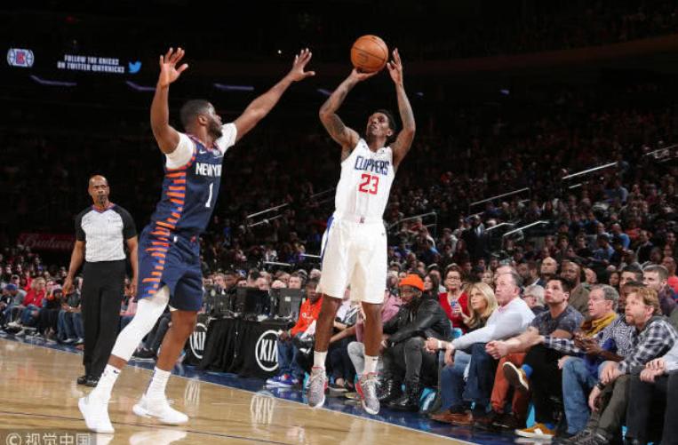 2019年3月25日 NBA常规赛 快船VS尼克斯 全场高清录像回放-麦豆网