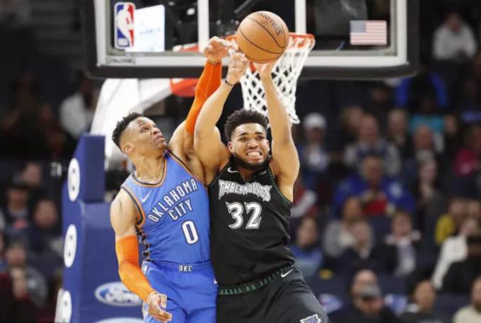 2019年3月6日 NBA常规赛 雷霆VS森林狼 全场高清录像回放-麦豆网