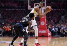 2019年4月19日 NBA季后赛西部首轮第三场 勇士VS快船 全场高清录像回放-麦豆网