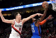 2019年4月15日 NBA季后赛西部首轮 雷霆VS开拓者 全场高清录像回放-麦豆网