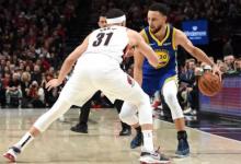 2019年5月19日NBA西部决赛第三场 勇士VS开拓者 全场高清录像回放-麦豆NBA录像吧