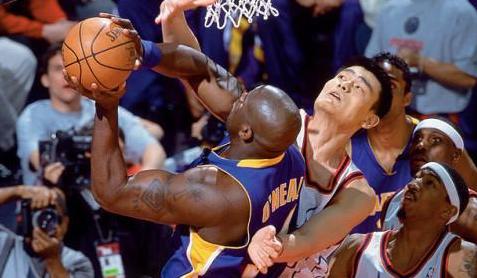 首次姚鲨对决 2003姚明首战湖人录像回放 全场高清-麦豆NBA录像吧