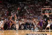 费舍尔0.4秒绝杀 2004年NBA西部半决赛 湖人vs马刺第五场G5录像回放-麦豆NBA录像吧