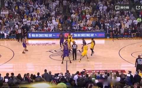 2018年NBA圣诞大战 湖人vs勇士 全场录像回放-麦豆网