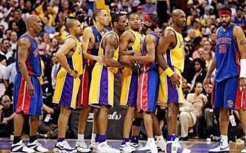 2004年NBA总决赛录像回放 湖人vs活塞[全五场]-麦豆网