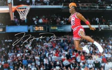 1988年NBA全明星赛录像回放 飞人乔丹终称霸-麦豆NBA录像吧