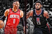 2020.3.6NBA常规赛 快船vs火箭 全场录像回放-麦豆NBA录像吧