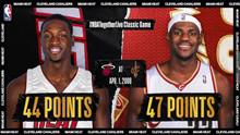 詹姆斯大战韦德 詹姆斯47分vs韦德44分录像回放-麦豆NBA录像吧