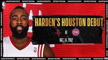 哈登火箭首场比赛 2012.10.31火箭vs活塞录像回放-麦豆NBA录像吧