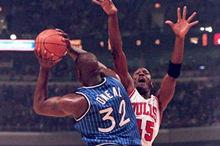 1993年乔丹64分pk魔术奥尼尔录像回放-麦豆NBA录像吧