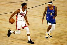2020.8.2NBA常规赛 热火vs掘金 全场录像回放-麦豆NBA录像吧